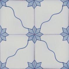Portuguese wall floor ceramic tile azulejo NEOCLASSICAL DESIGNS POMBALINO
