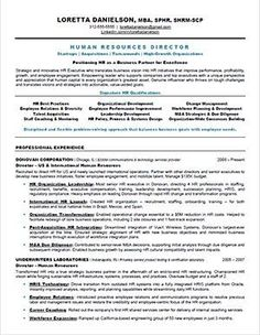 Hr resume - How to Write Powerful and Memorable HR Resumes – Hr resume