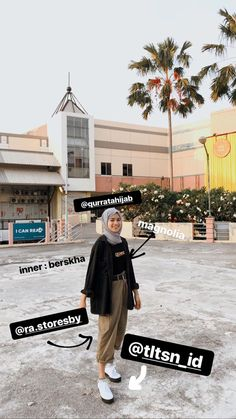 outfit plus size Modern Hijab Fashion, Street Hijab Fashion, Hijab Fashion Inspiration, Muslim Fashion, Look Fashion, Korean Fashion, Fashion Outfits, Mode Ootd, Mode Hijab