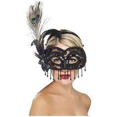 Máscaras Venecianas Adulto Para Mujer Masquerade Ball Accesorio Disfraz Vestido De Lujo