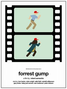 Pictogram movie posters.