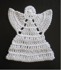 DIY CHRISTMAS / GIFT Create a beautiful angel ornament with free crochet angel patterns. This craft can be used for any time of year. You can use it as a decoration or you can sew it to a piece of clothing. It can be placed beautifully on your Christmas tree too!