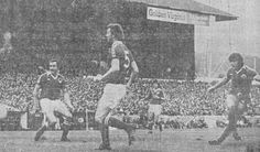 Bristol City 2 Everton 2 in Sept 1978 at Ashton Gate. Bob Latchford scores his 2nd goal and Everton's 2nd equaliser #Div1