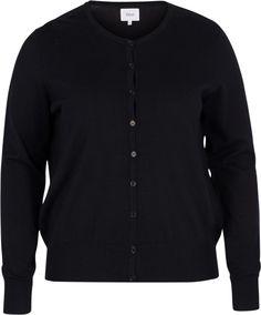 Zizzi Cardigan in Feinstrick online kaufen Mantel, Sweaters, Medium, Products, Fashion, Sweater Cardigan, Female Fashion, Breien, Woman