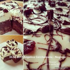 Brownies, Romanian Desserts, Food Cakes, Easy Desserts, Cake Recipes, Muffins, Sweet Treats, Pudding, Urban