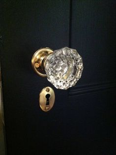 Things I love Best Crystal door knobs Door knobs and Doors ideas