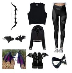 Bat by scream-girl on Polyvore featuring картины