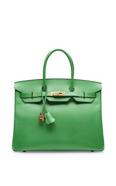 Hermes 35Cm Bamboo Epsom Birkin by Heritage Auctions Special Collection for Preorder on Moda Operandi