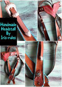 #leatherwork #handmade #custommade #headstall #horsetack #leathercraft #irisrules #irisvanderjagt