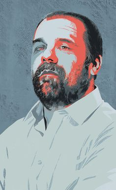 Ivan Canu illustrated a portrait of Massimo Banzi, an Italian entrepreneur and designer of the open-source platform, Arduino, for the October issue of Il Sole 24 Ore.