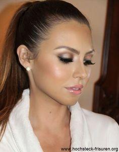 Airbrush Makeup Augen Make Up 2017 | Hochsteck Frisuren