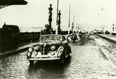 Autre modèle de Fiat, photo prise a Prague, ce véhicule appartient à une unité SS.