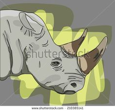#aggression #angry #animal #art #background #big #black #cartoon #color #cute #design #drawing #expression #face #head #horn #icon #illustration #image #line #mascot #nature #outlined #paint #retro #rhino #rhinoceros #shape #silhouette #sketch #symbol #vector #wild #wildlife #zoo