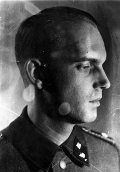 Grodno, Poland, SS Oberscharfueher Viso Kurt, the first commander of the Jewish ghetto. Such evil he allowed to be carried out