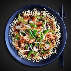 Teriyaki Stir Fry Sauce, Teriyaki Pork Chops, Pork Stir Fry, Stir Fry Recipes, Sauce Recipes, Cooking Recipes, Vegetable Chop Suey, Vh Sauces, Rib Sauce