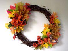 Autumn Splendor by DesignerWreathsbyMe on Etsy, $39.99