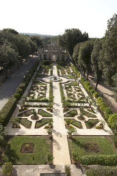 Roma, Villa Borghese, Giardino segreto (Secret Garden) e Uccelliera (Aviary)