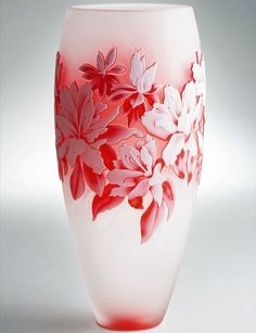 Staggering Red Glass Vases Ideas Simple Tricks Can Change Your Life: Vases Shapes Green blue vases shabby chic.Vases Drawing Step By Step. Tall Glass Vases, Big Vases, Clear Vases, Vase Centerpieces, Vases Decor, Wall Vases, Interior Simple, Vase Crafts, Diy Crafts