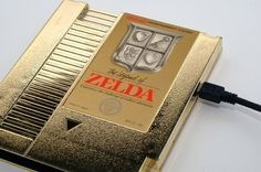 NES Hard Drive - The Legend of Zelda I have this game for my NES :)