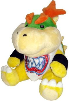 "Super Mario Plush - 7"" Bowser Jr. Soft Stuffed Plush Toy Japanese Import Sanei http://www.amazon.com/dp/B002WJI64E/ref=cm_sw_r_pi_dp_T8A3tb021DYJTQC3"