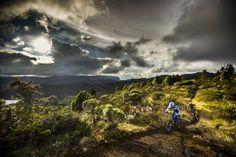 La Catedral de Sal de Zipaquirá es el escenario de esta pista de downhill única en el mundo