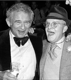 Truman Capote and Norman Mailer