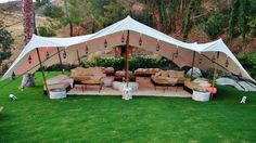 Moroccan decor furniture | Themed event and party rentals | Los Angeles, CA Outdoor Tent Party, Teepee Party, Outdoor Lounge, Outdoor Parties, Party Canopy, Outdoor Party Lighting, Outdoor Stage, Backyard Parties, Outdoor Decor