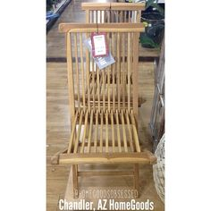 How great are these Broyhill fold up deck chairs? Only $39.99 each. #homegoodsobsessed #homegoods #arizona #homegoodsfind #apartmentliving #interiors #decorate #home #decor #outdoors #broyhill