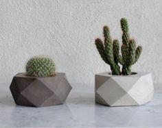 ORE | concrete succulent planter
