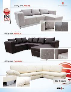 Inlab muebles salas en esquina