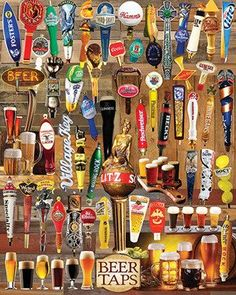 Beer Taps Jigsaw Puzzle - 1000 Pieces