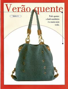 cool crocheted bag