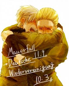 The fall of berlin wall - ludwig and gilbert                                                                                                                                                                                 Plus