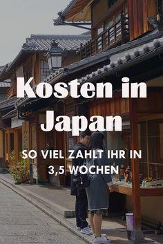 In diesem Beitrag findest du unsere gesamten Kosten für 3,5 Wochen Japan. Egal ob Hotel oder Unterkunft, Essen, Restaurants, Sehenswürdigkeiten oder sonstige Kosten.