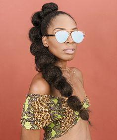 Afropunk Beauty Street Style 2016 | The coolest beauty looks from Afropunk. #refinery29 http://www.refinery29.com/afropunk-beauty-street-style-2016