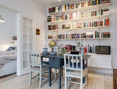 Homestory: skandinavischer Stilmix auf 48qm in Göteburg  HomeToday