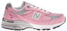 New Balance personalized pink 993 shoe is the official customizable Lace Up for the Cure shoe.