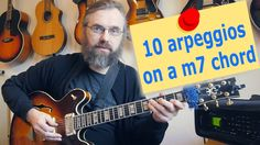 I already have a lot of lessons about different types of arpeggios and structures, but I though it would be useful to approach this not from the type of arpeggio but from the chord you use it on. Therefore I made this lesson with 10 different arpeggios you can use on a minor 7 chord.  You can download a PDF and read the article on my blog via this link: http://jenslarsen.nl/10-arpeggios-over-a-m7-chord/  #guitar #jazzguitar #guitarlesson #tutorial