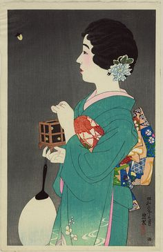 Shinsui Itō - From The First Series of Modern Beauties, 1931