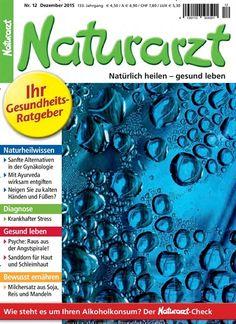 """Die aktuelle Ausgabe von Naturarzt am 23.11. kostenlos herunterladen beim epaper Monday. Einfach auf """"Gutschein einlösen"""" drücken: https://www.united-kiosk.de/epaper+Monday+-+epaper-ebinr_2112445.html"""