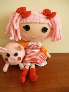 Lalaloopsy doll Handmade by HandsofSouthDolls on Etsy