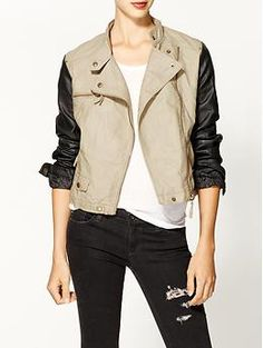 RD Style Vegan Leather Jacket | Piperlime