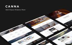 Canna Elegant WordPress Theme