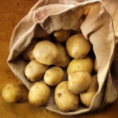 6. Potatoes - 25 Foods You Can Re-Grow Yourself from Kitchen Scraps