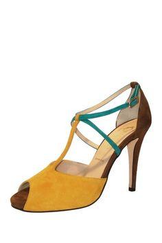 Butter Pistol Colorblock Platform Sandal by The Perfect Pair on @HauteLook
