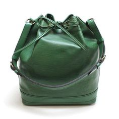 Louis Vuitton Noe Epi Shoulder bags Green Leather M44004