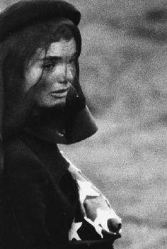Elliot Erwitt Arlington, Virginia (cropped), 1963. Jaqueline Kennedy. John F. Kennedy funeral