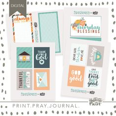 New November Releases for Print & Pray! Journal Notebook, Journal Cards, Mary And Martha, 50 Words, Word Nerd, Faith Bible, Illustrated Faith, Dear God, Travelers Notebook