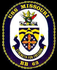 USS Missouri BB-63 Sister Ship