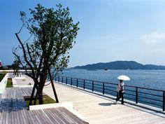 優秀賞:鳥羽・海辺のプロムナード「カモメの散歩道」